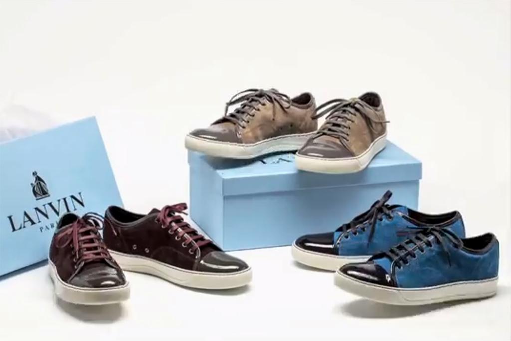 Nouvelle Arrivée À La Vente Paiement Visa Vente Pas Cher Lanvin Sneaker Homme Acheter Pas Cher Populaire Réduction Excellente 0HBU0k95
