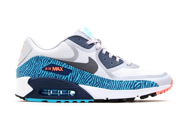 nike air max bleu zebre