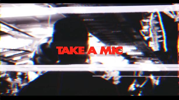 Take a mic