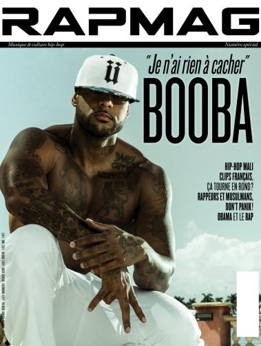 Couv RapMag - Booba - juillet (1)