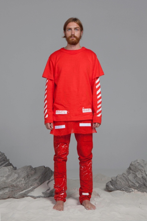 Off White par Virgil Abloh collection Été 2014.7