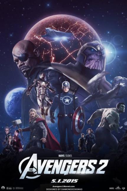 Affiche non officielle de Avengers : Age of Ultron