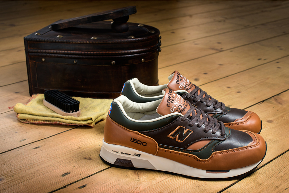 New Balance Marron Cuir