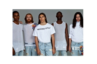 "OFF-WHITE c/o VIRGIL ABLOH Automne/Hiver ""Moving Still"" OFF-WHITE c/o VIRGIL ABLOH 2014 Fall/Winter ""Moving Still"" 2014"