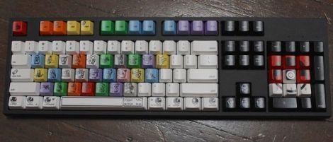 clavier pokemon